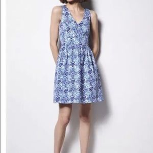 Milly Blue Skater dress